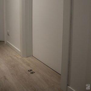 Corridoio porta camera