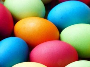 Pasqua uova colorate
