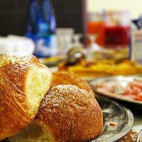 Buffet colazione.